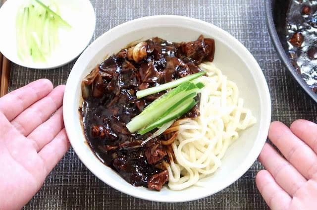 Jajangmyeon with Shirataki Noodle Recipe