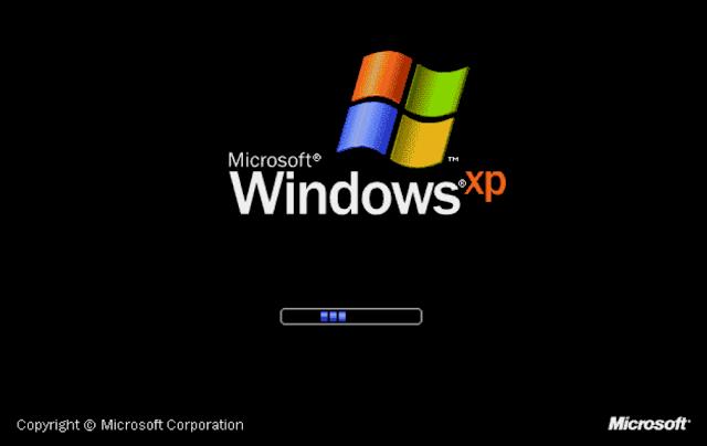 Ghost Windows XP SP3