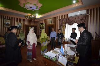 Rotasi Pejabat Pada Fakultas Tarbiyah dan Ilmu Keguruan