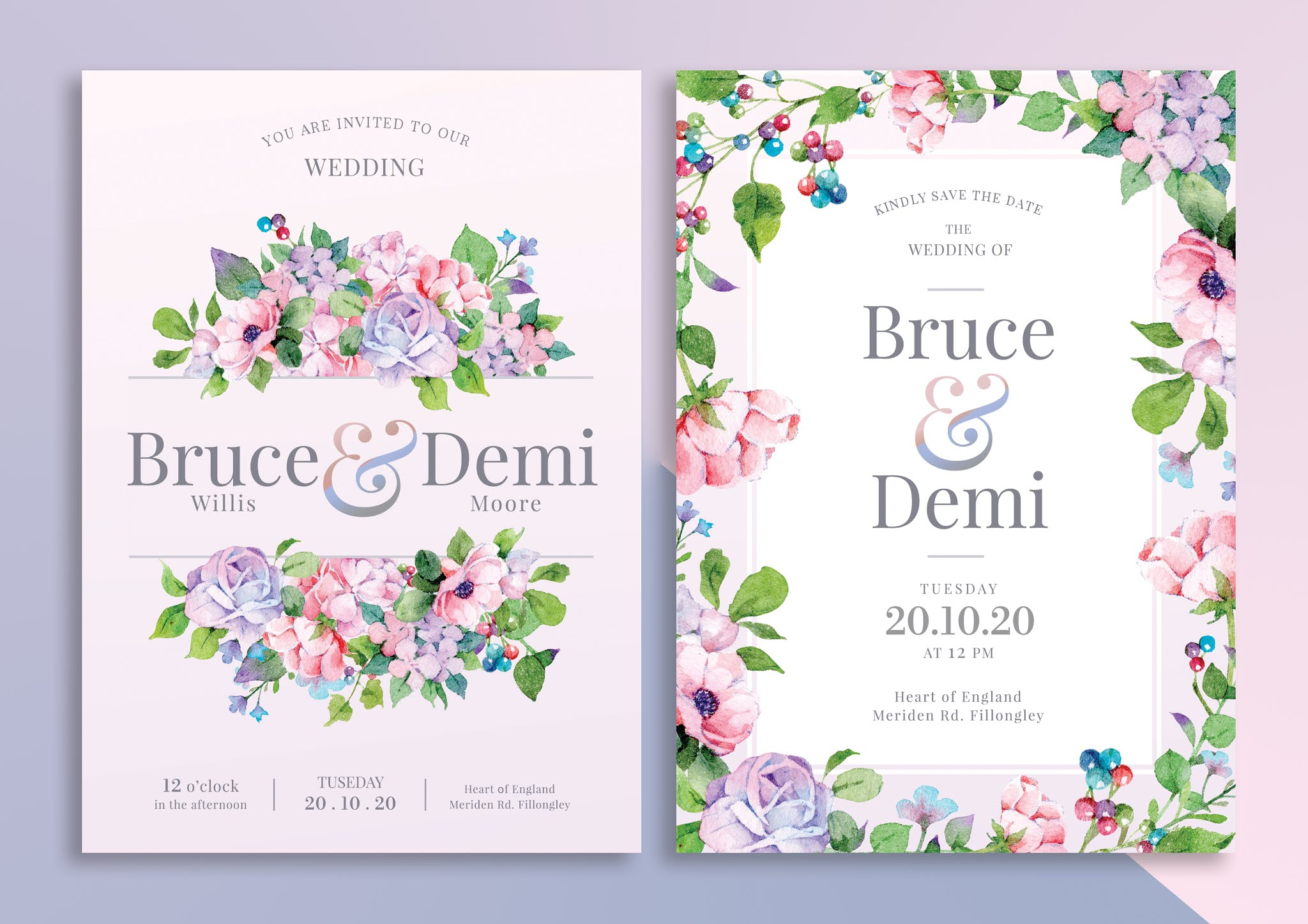 Download brochure cover or node book decorated with flowers open source psd