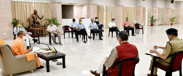 मुख्यमंत्री योगी ने कोविड-19 के 20 हजार टेस्ट प्रतिदिन की क्षमता में वृद्धि करने के दिए निर्देश                                                                                                                                                    संवाददाता, Journalist Anil Prabhakar.                                                                                               www.upviral24.in