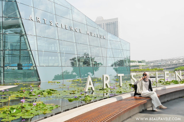 Art Science Museum di Marina bay sands