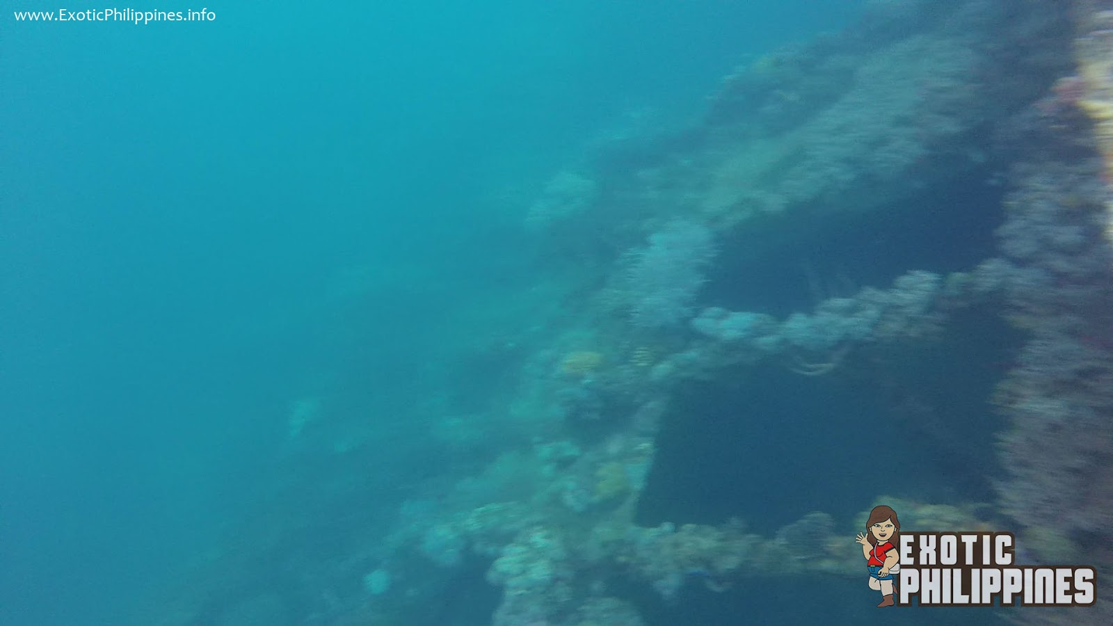 Snorkeling Above the Lusong Gunboat Shipwreck of Coron Palawan Exotic Philippines Travel Blog