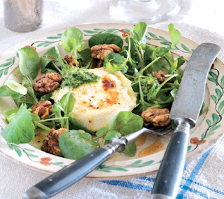 Pesto Goats Cheese Salad Recipe