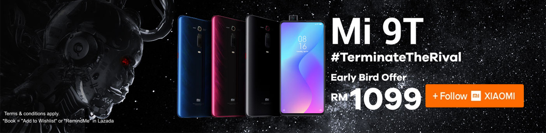 Harga Early Bird Smartphone Xiaomi Mi 9T Lazada
