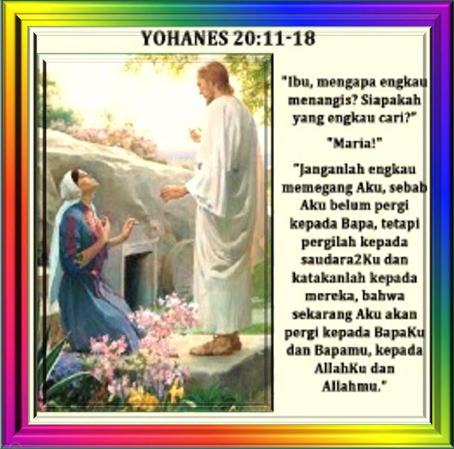 YOHANES 20:11-18