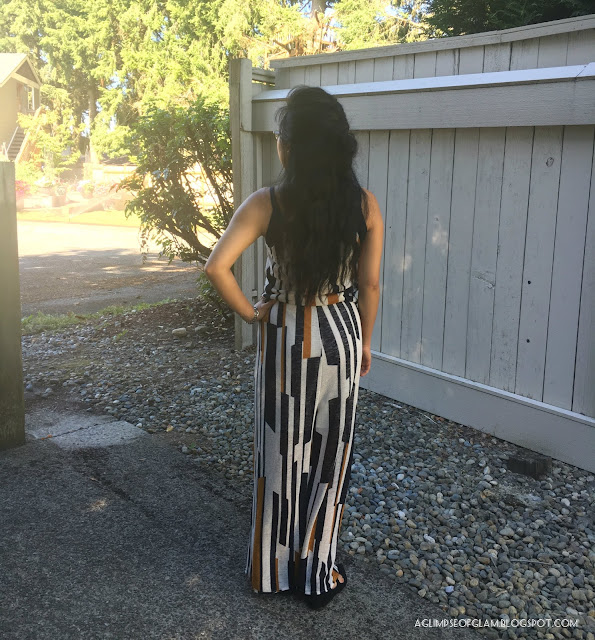 Black and Yellow Jumpsuit OOTD Dezzal Review - Andrea Tiffany A Glimpse of Glam