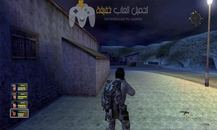 تحميل لعبة عاصفة الصحراء 2 Conflict Desert Storm للكمبيوتر