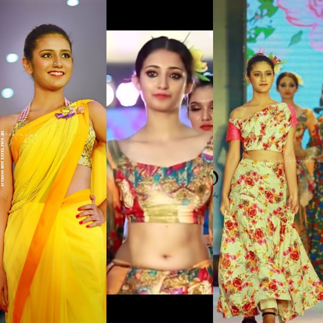 Priya Prakash Varrier Hot Navel Photos