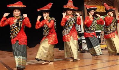 Tarian Tradisional Asal Sumatra Utara