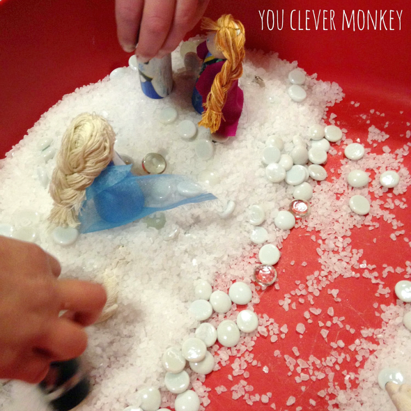 25+ Different Non-Food Items Perfect for Rich Sensory Play in the classroom or at home | you clever monkey