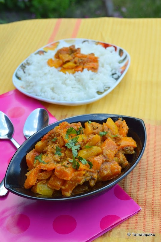 Colored Capsicum Curry (No Onion No Garlic)