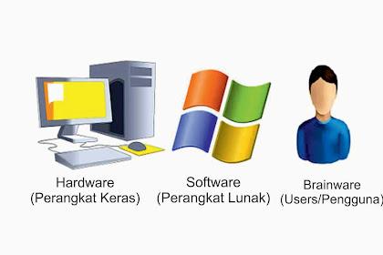 Apa itu Hardware, Software dan Brainware ?