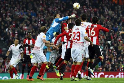 Sevilla gana al Athletic Bilbao 1 a 0