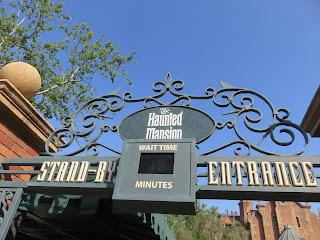Haunted Mansion Entrance Walt Disney World