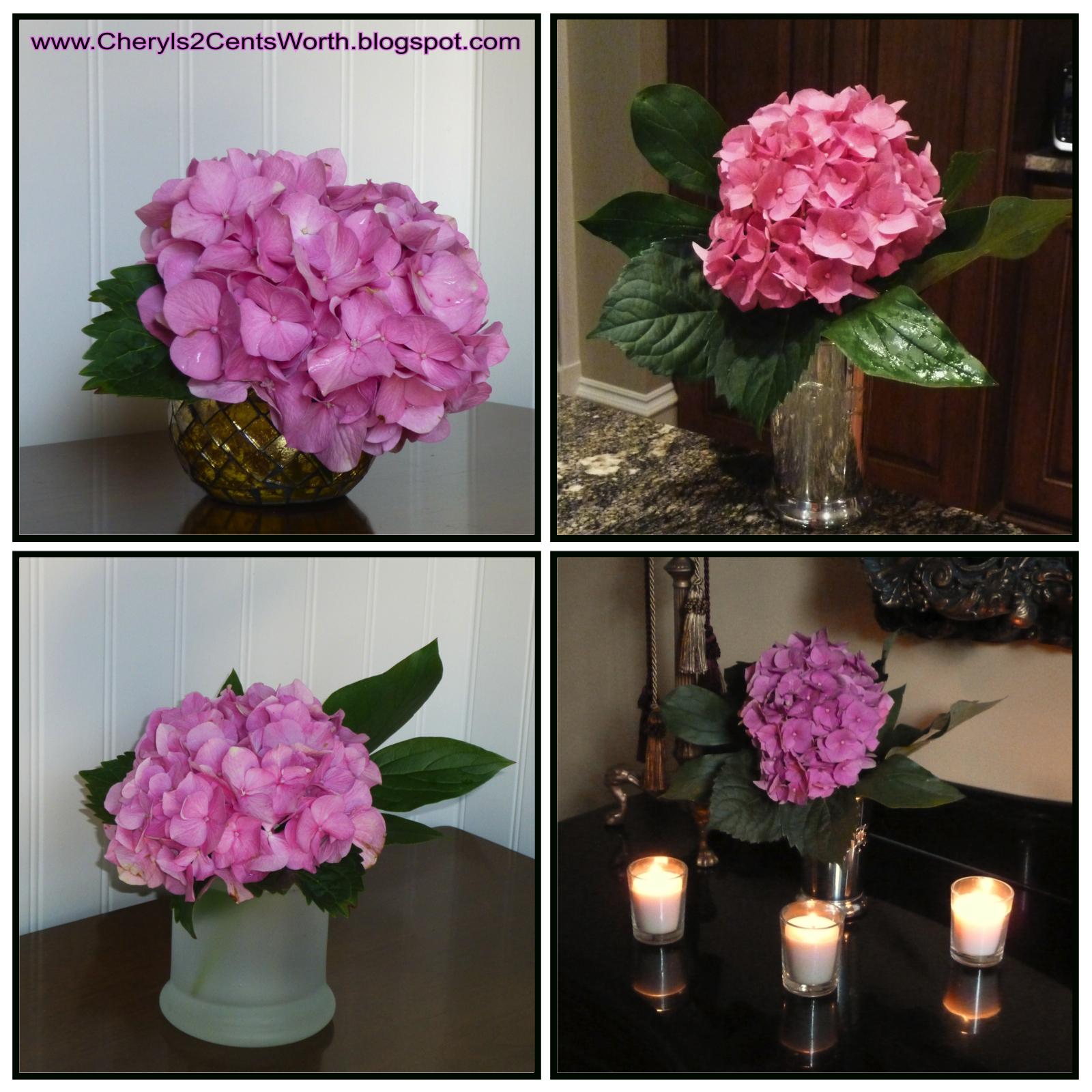 b3ca70a9c74e Cheryl s 2 Cents  Worth  Mini Flower Arrangements and Simple ...