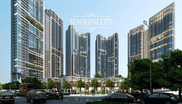 Vị trí chung cư Sunshine City