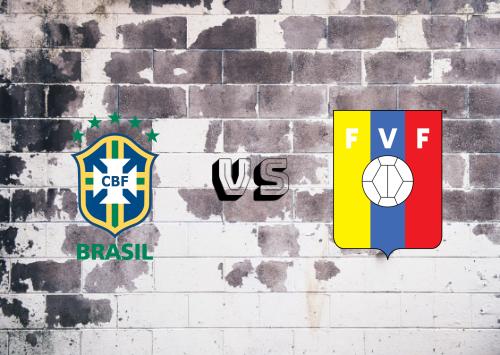 Brasil vs Venezuela  Resumen y Partido Completo