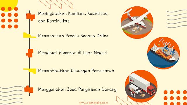 Strategi meningkatkan ekspor indonesia