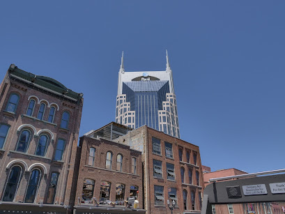 These are Nashville, TN, buildings, but the AT&T Batman Building is a present, towering building.