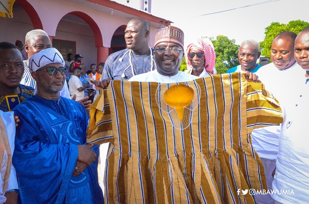 VP Bawumia Enstooled As 'Nkabomhene' By Tain Chiefs