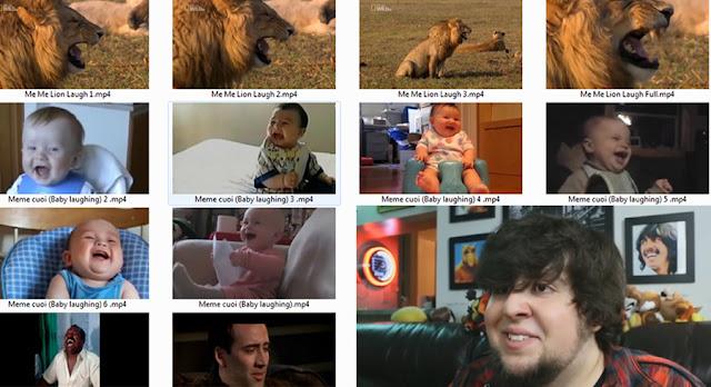 Full 100 bộ biểu cảm hài hước  cảm xúc troll l Clip meme hài hước Ghép video Youtube