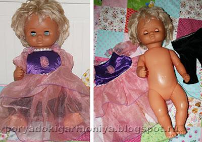 Новое платье для куклы