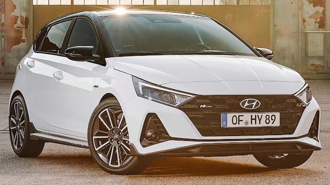 Hyundai I20 N Line 2021 reveals itself