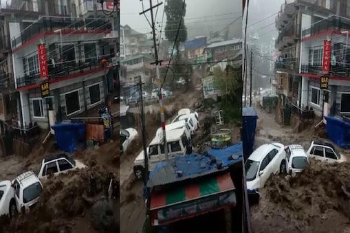 रविवार रात से हो रही बारिश हिमाचल प्रदेश के कई जिलों में रविवार रात से बारिश हो रही है. पिछले कई दिनों से यहां के लोग भी गर्मी से बेहाल थे. हालांकि, सोमवार को लोगों को गर्मी से राहत तो मिली है, लेकिन भारी बारिश से कई जगह से नुकसान की खबरें भी सामने आ रही हैं.  चंबा में भी फटा था बादल बता दें कि हिमाचल में आए दिन बादल फटने की खबरें सामने आ रही हैं. पिछले दिनों हिमाचल प्रदेश के चंबा में भी बादल फटा था. इससे वहां मूसलाधार बारिश हुई. बारिश और बादल फटने से बाढ़ की स्थिति पैदा हो गई थी. सड़कों के साथ ही कई कारें भी क्षतिग्रस्त हो गई थीं. हालांकि, किसी तरह के जानमाल के नुकसान की खबर नहीं थी.