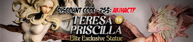 eresa vs. Priscilla Elite Exclusive Statue de Claymore, Figurama Collectors - PROMO CODE: AkihaCTP
