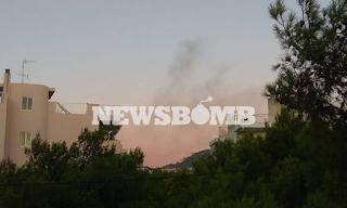 Φωτιά στη Νέα Πεντέλη