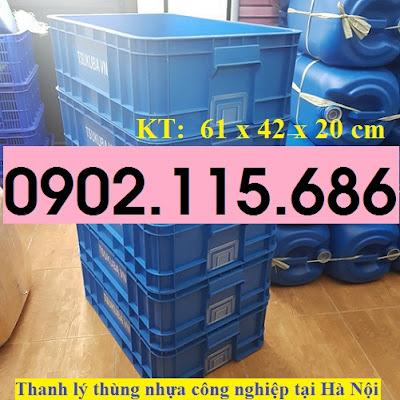 Thanh lý thùng nhựa công nghiệp tại hà nội, khay nhựa công nghiệp tại hà nội, hộp nhựa công nghiệp tại hà nội, 2