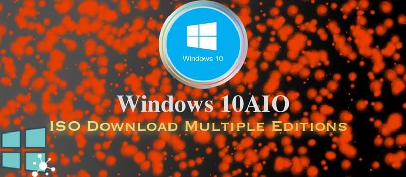 تحميل نظام Windows 10 aio لأجهزة الويندوز مفعل