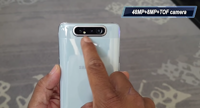 Samsung Galaxy A80 Phone Camera