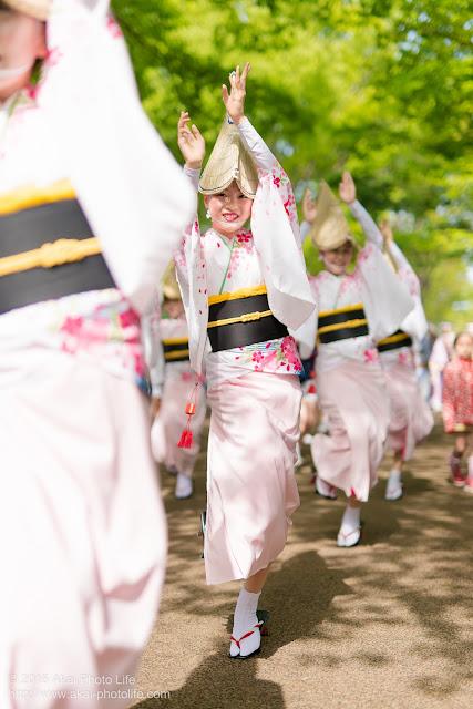 紅連、阿波踊り、小金井こどもフェスタ、女踊り