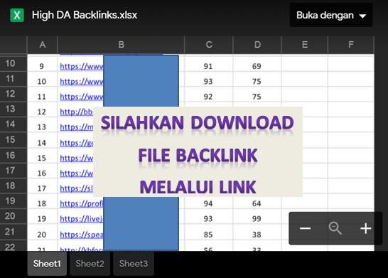 100 Backlink Blog Berkualitas Gratis High DA PA