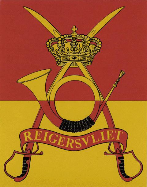 Création du drapeau du 2/4 Chasseurs à cheval - Commandant Sibille et Nolet de Brauwere.