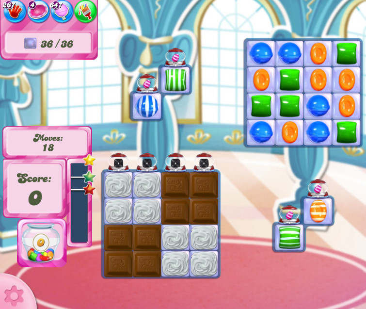 Candy Crush Saga level 2647