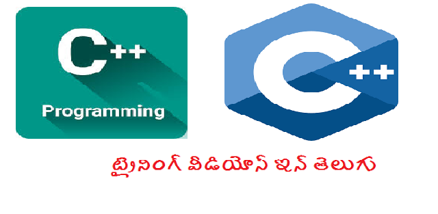 C++ Training videos in telugu