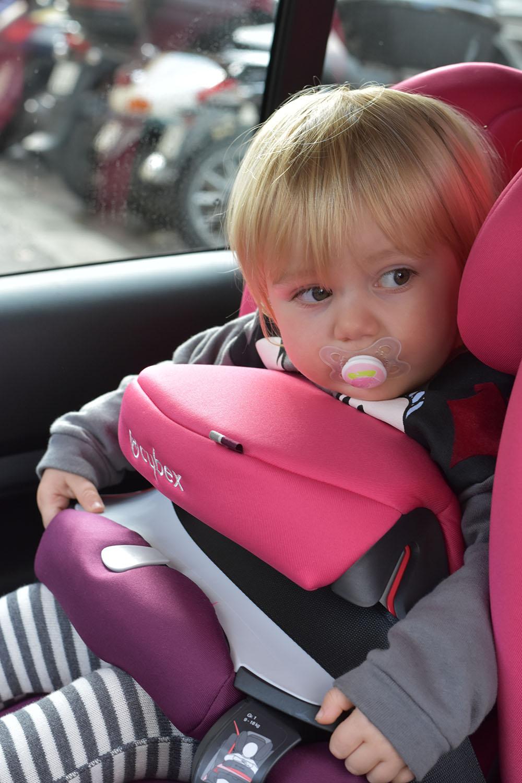 bambini in auto