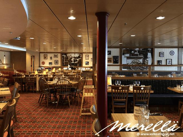Ravintolat Baltic Queen Tallink