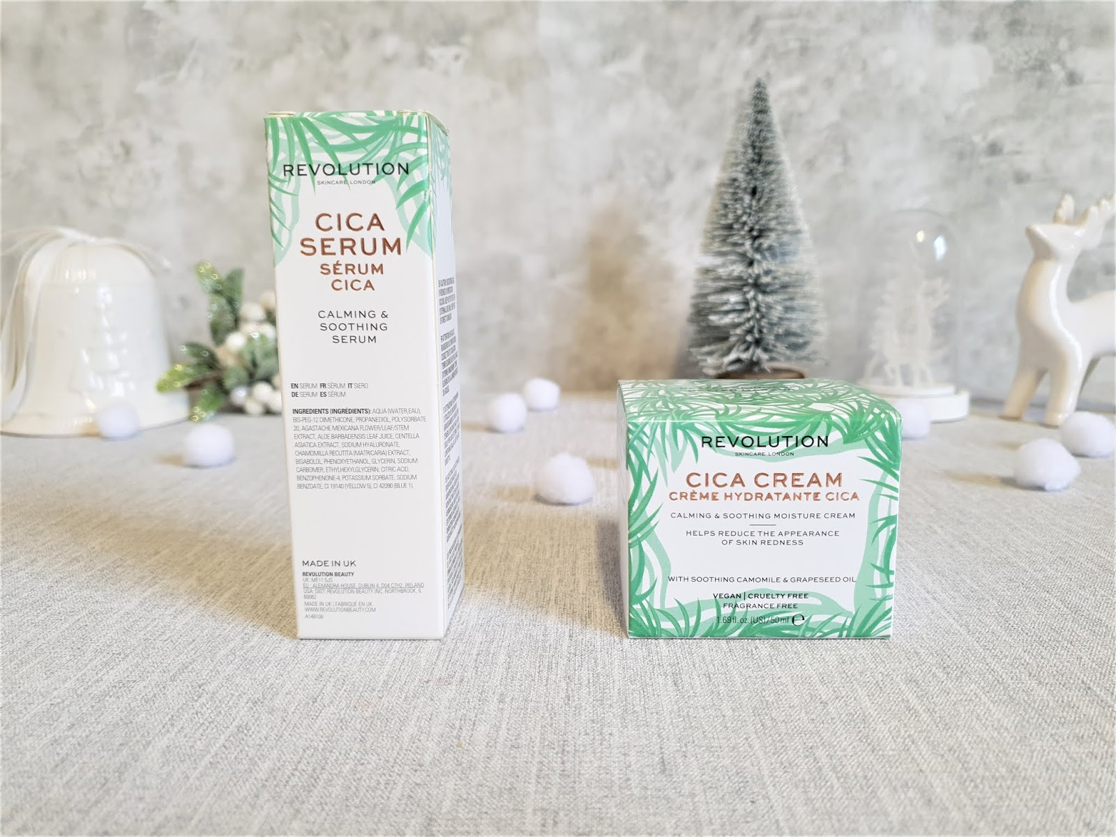 Kathryn S Loves Revolution Skincare Cica Serum Cream Review