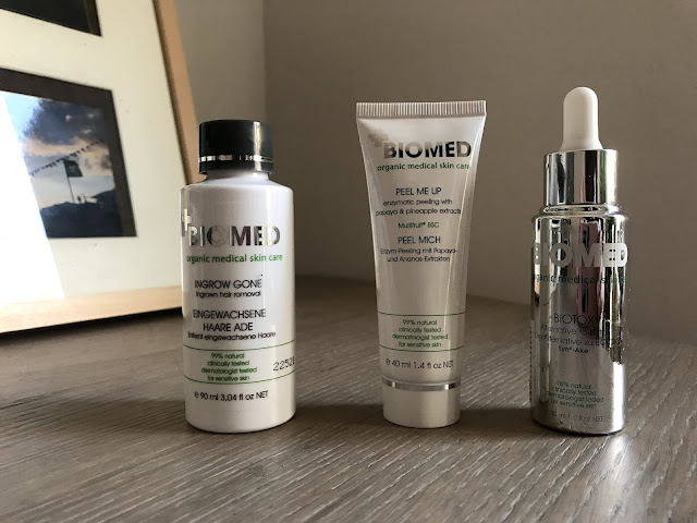 Review: Biomed Peel Me Up+Biomed Biotox+Biomed Ingrow Gone