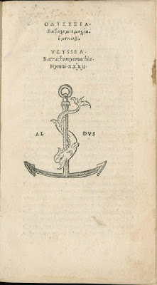 Colophon to Vlyssea, 1524