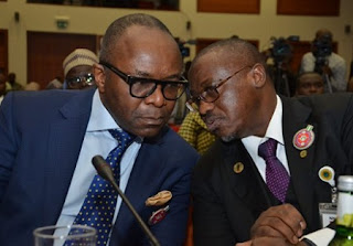 Kachikwu and Baru: Fresh $141m Corruption Scandal In NNPC