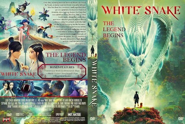 White Snake 白蛇:緣起 [Baishe: Yuanqi] DVD Cover
