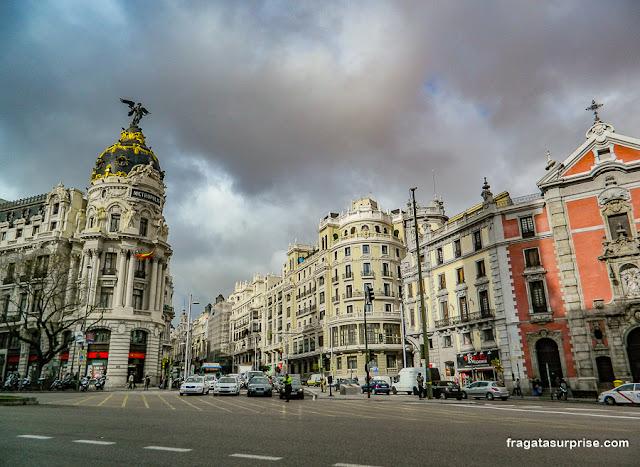 Edifício Metrópolis, Madri
