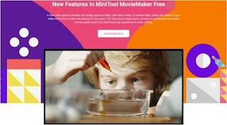 برنامج, محرر, وصانع, فيديوهات, إحترافي, لتعديل, ومونتاج, ملفات, الفيديو, MiniTool ,MovieMaker