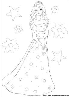 Barbie de vestido