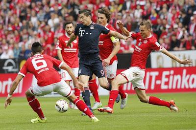 مشاهدة مباراة بايرن ميونخ وماينز بث مباشر اليوم 31-8-2019 في الدوري الالماني